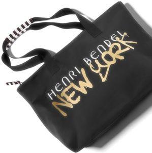 NWT Henri Bendel Grafitti Tote Bag
